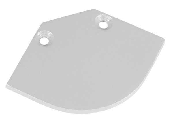 Endkappe C-LINE oval weiss